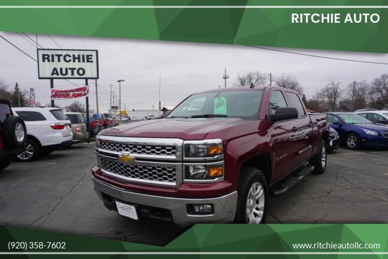 2014 Chevrolet Silverado 1500 for sale at Ritchie Auto in Appleton WI