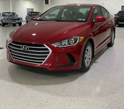 2017 Hyundai Elantra for sale at Hamilton Automotive in North Huntingdon PA