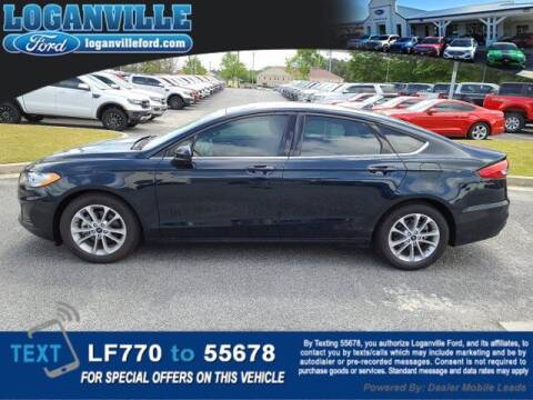 2020 Ford Fusion for sale at Loganville Quick Lane and Tire Center in Loganville GA