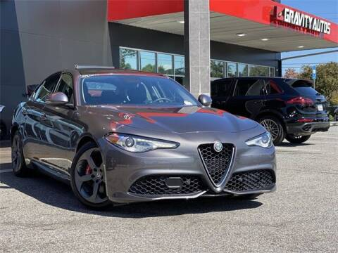 2017 Alfa Romeo Giulia for sale at Gravity Autos Roswell in Roswell GA