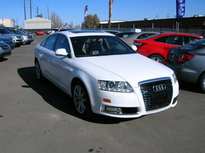 2010 Audi A6 for sale at Avalanche Auto Sales in Denver CO