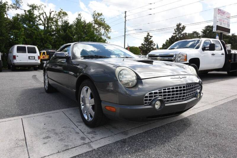 2003 Ford Thunderbird for sale at Grant Car Concepts in Orlando FL