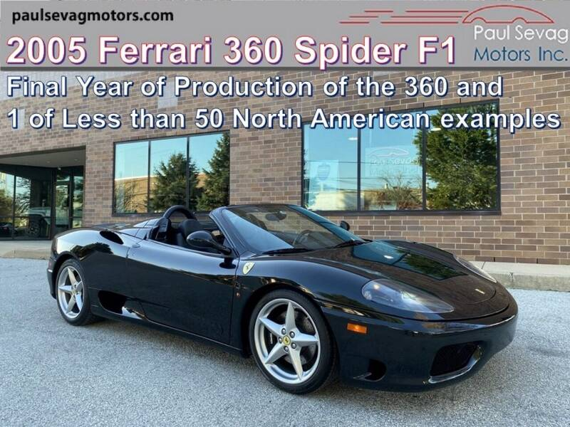 2005 Ferrari 360 Spider for sale at Paul Sevag Motors Inc in West Chester PA