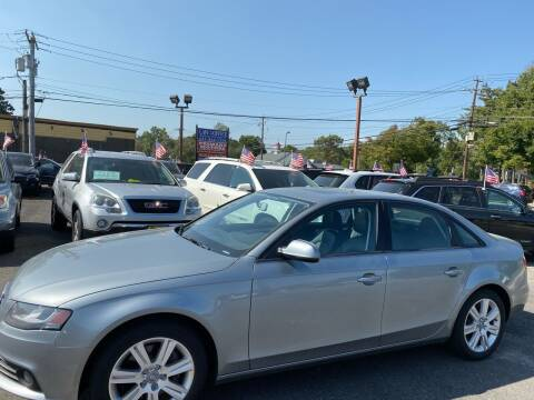 2011 Audi A4 for sale at Primary Motors Inc in Commack NY