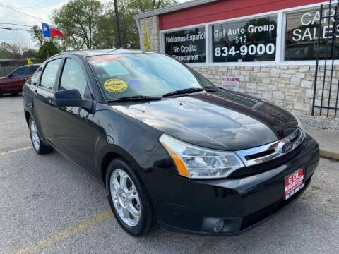 2009 Ford Focus for sale at GOL Auto Group in Austin TX