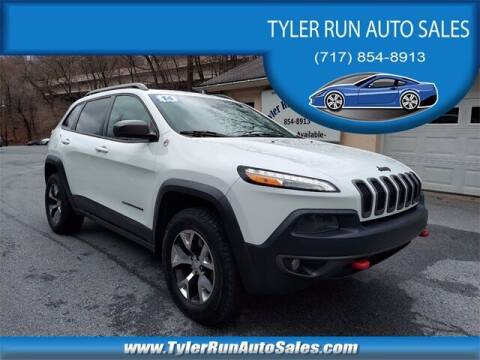 2014 Jeep Cherokee for sale at Tyler Run Auto Sales in York PA