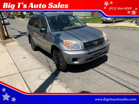 2005 Toyota RAV4 for sale at Big T's Auto Sales in Belleville NJ
