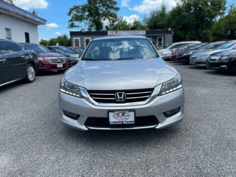 2014 Honda Accord for sale at Sincere Motors LLC in Baltimore MD