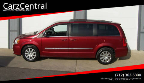 2011 Chrysler Town and Country for sale at CarzCentral in Estherville IA