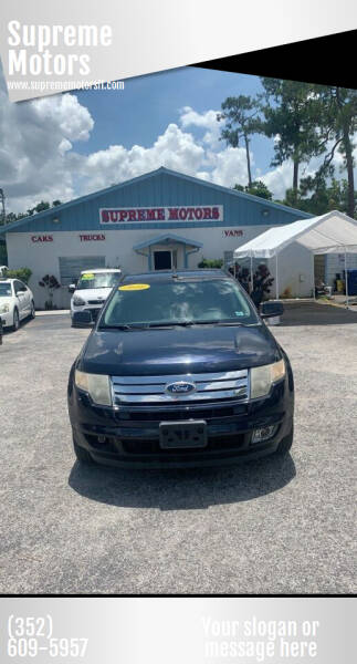 2010 Ford Edge for sale at Supreme Motors in Tavares FL