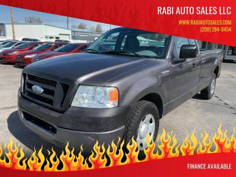 2008 Ford F-150 for sale at RABI AUTO SALES LLC in Garden City ID