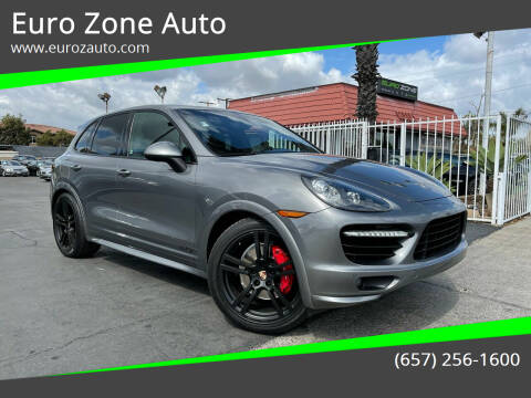 2013 Porsche Cayenne for sale at Euro Zone Auto in Stanton CA
