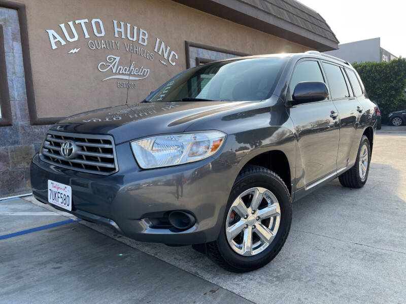2010 Toyota Highlander for sale at Auto Hub, Inc. in Anaheim CA