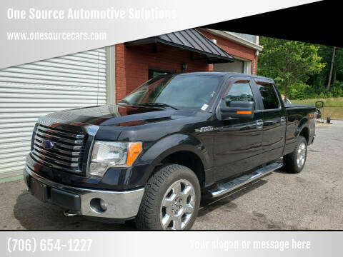 2011 Ford F-150 for sale at One Source Automotive Solutions in Braselton GA