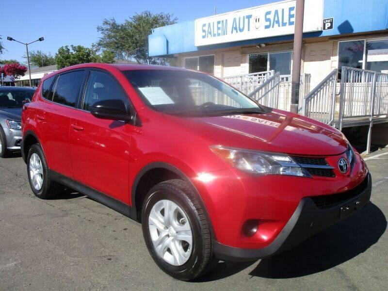 2015 Toyota RAV4 for sale at Salem Auto Sales in Sacramento CA