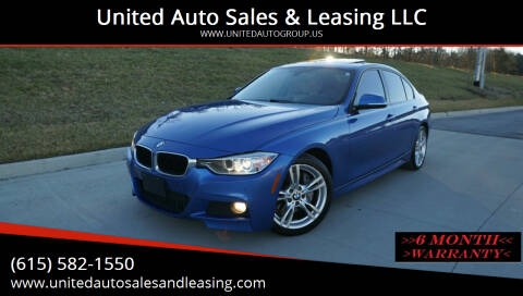 2015 BMW 3 Series for sale at United Auto Sales & Leasing LLC in La Vergne TN