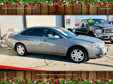2007 Chevrolet Impala for sale at Independent Performance Sales & Service in Wenatchee WA