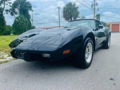 1977 Chevrolet Corvette for sale at American Classics Autotrader LLC in Pompano Beach FL