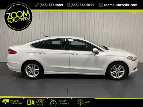 2018 Ford Fusion for sale at ZoomAutoCredit.com in Elba NY