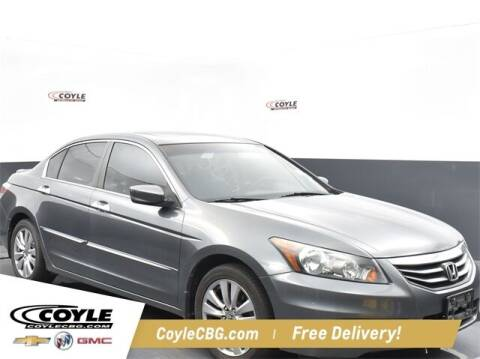 2012 Honda Accord for sale at COYLE GM - COYLE NISSAN - New Inventory in Clarksville IN