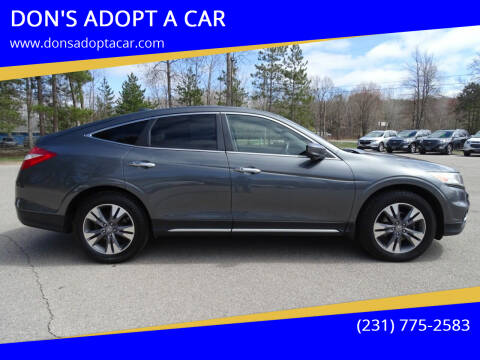 2013 Honda Crosstour for sale at DON'S ADOPT A CAR in Cadillac MI