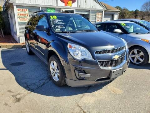 2010 Chevrolet Equinox for sale at Falmouth Auto Center in East Falmouth MA
