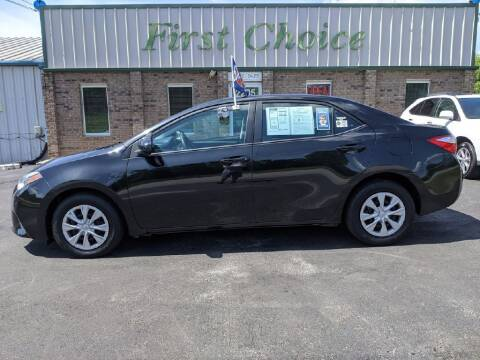 2014 Toyota Corolla for sale at First Choice Auto in Greenville SC
