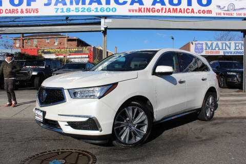 2018 Acura MDX for sale at MIKEY AUTO INC in Hollis NY