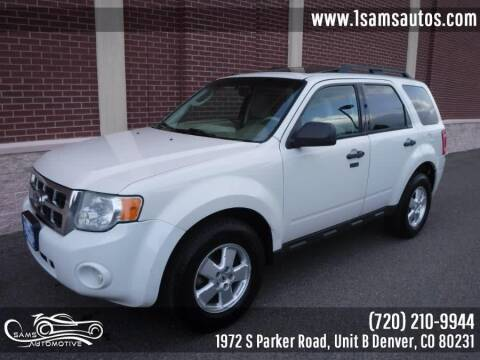 2011 Ford Escape for sale at SAM'S AUTOMOTIVE in Denver CO