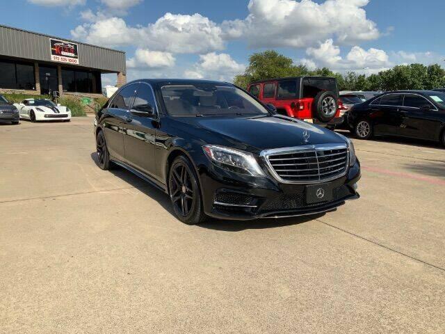 2015 Mercedes-Benz S-Class for sale at KIAN MOTORS INC in Plano TX