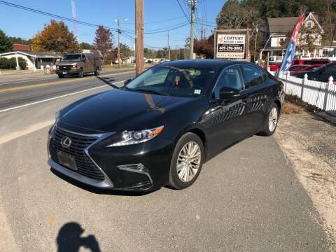 2016 Lexus ES 350 for sale at Century Motor Cars in West Creek NJ