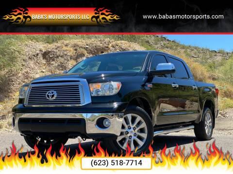 2011 Toyota Tundra for sale at Baba's Motorsports, LLC in Phoenix AZ