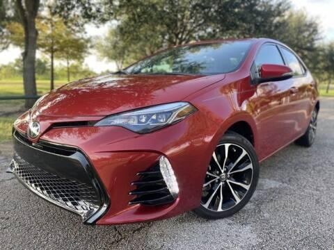 2018 Toyota Corolla for sale at Prestige Motor Cars in Houston TX