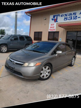 2007 Honda Civic for sale at TEXAS AUTOMOBILE in Houston TX