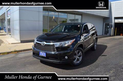 2015 Toyota Highlander for sale at RDM CAR BUYING EXPERIENCE in Gurnee IL