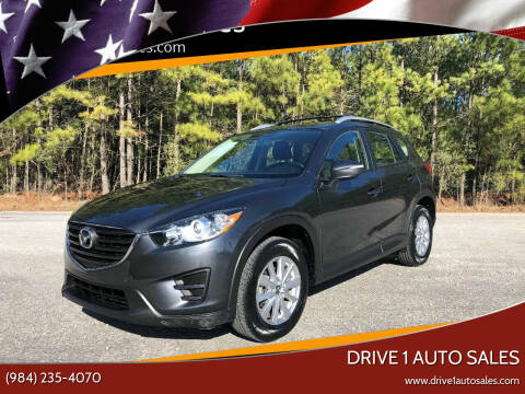 2016 Mazda CX-5 for sale at Drive 1 Auto Sales in Wake Forest NC