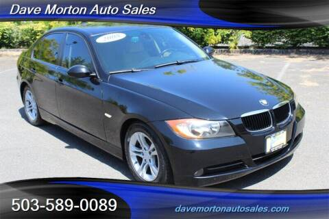 2008 BMW 3 Series for sale at Dave Morton Auto Sales in Salem OR