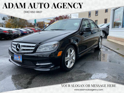 2011 Mercedes-Benz C-Class for sale at ADAM AUTO AGENCY in Rensselaer NY