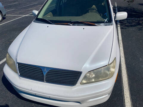 2002 Mitsubishi Lancer for sale at Nash's Auto Sales Used Car Dealer in Milton FL