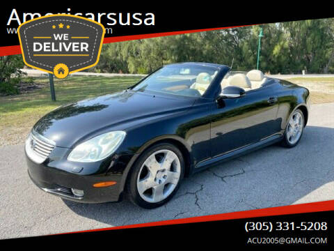 2004 Lexus SC 430 for sale at Americarsusa in Hollywood FL