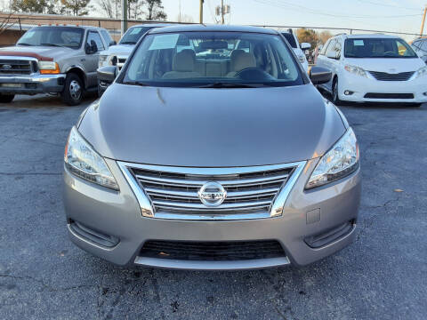 2015 Nissan Sentra for sale at LOS PAISANOS AUTO & TRUCK SALES LLC in Peachtree Corners GA