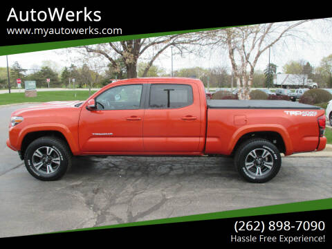2018 Toyota Tacoma for sale at AutoWerks in Sturtevant WI