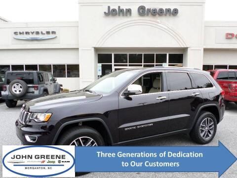 2018 Jeep Grand Cherokee for sale at John Greene Chrysler Dodge Jeep Ram in Morganton NC