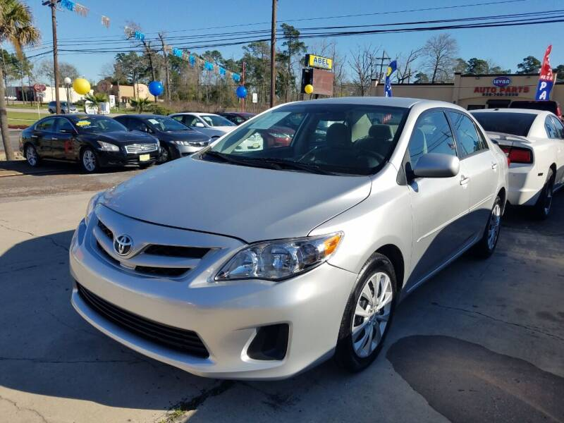 2010 Toyota Corolla for sale at Abel Motors, Inc. in Conroe TX