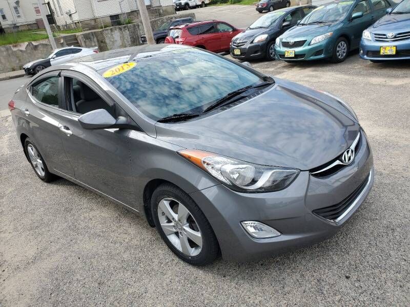2013 Hyundai Elantra for sale at Fortier's Auto Sales & Svc in Fall River MA