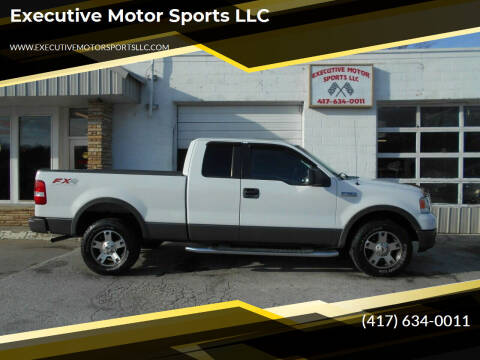 2005 Ford F-150 for sale at Executive Motor Sports LLC in Sparta MO