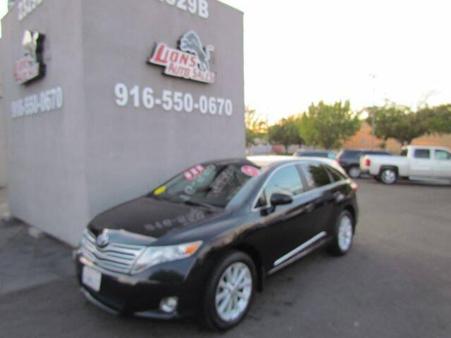 2012 Toyota Venza for sale at LIONS AUTO SALES in Sacramento CA