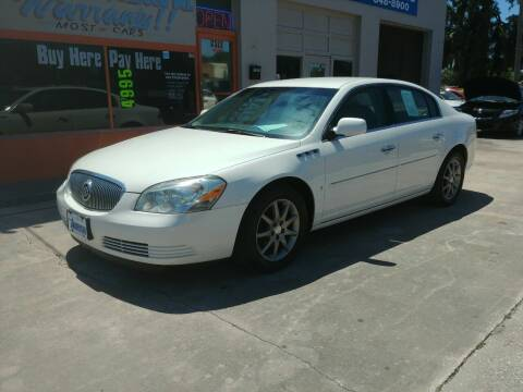 2008 Buick Lucerne for sale at QUALITY AUTO SALES OF FLORIDA in New Port Richey FL