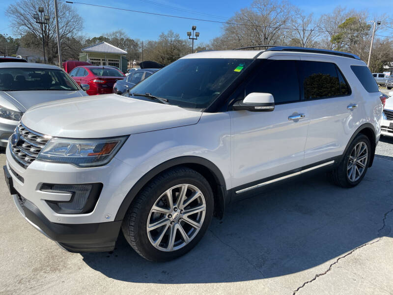 2016 Ford Explorer for sale at LAURINBURG AUTO SALES in Laurinburg NC