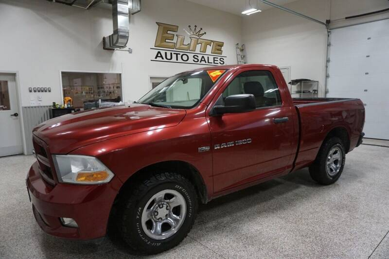 2012 RAM Ram Pickup 1500 for sale at Elite Auto Sales in Idaho Falls ID